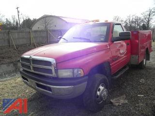 2001 Dodge Ram 3500 Pickup w/ Utility Bed