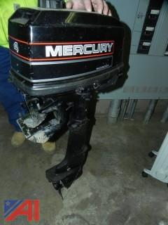 **UPDATED** Mercury 4 hp Outboard Boat Engine
