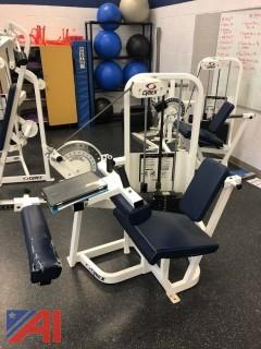 Cybex Strength Machine Seated Leg Lying Curl