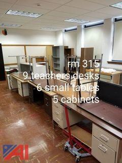 Desks, Tables and Cabinets