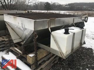 8' Long Western Ice Breaker V-Box Salter
