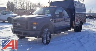 2008 Ford F450 XL Super Duty Utility Pickup Truck