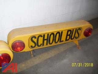 School Bus Roof Signs