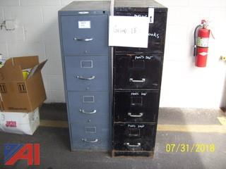 4-Drawer Filing Cabinets