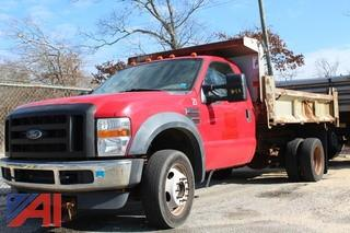 2010 Ford F550 Super duty Pickup with Dump Body