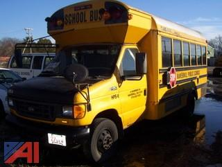 2004 Ford E450 Mini Wheelchair School Bus
