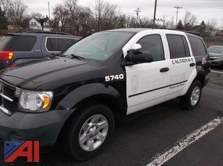 2008 Dodge Durango SUV/K9 Police Vehicle