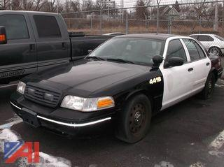 2011 Ford Crown Victoria 4DSD/Police Interceptor