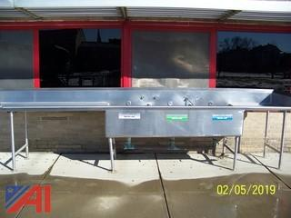 Stainless Steel Sink/Counter