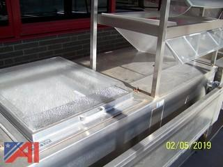 Cooler/Freezer in Serving Line
