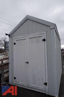8' (W) x 10' (H) x 12' (D)Storage Shed