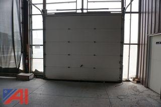 12' x 10' Insulated Garage Door w/ Rails and Springs