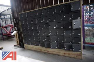 "12' x 8' x 14"" Open Hole Lockers"