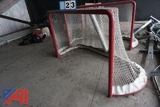 Regulation Size Hockey Nets
