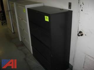 Black Filing Cabinet