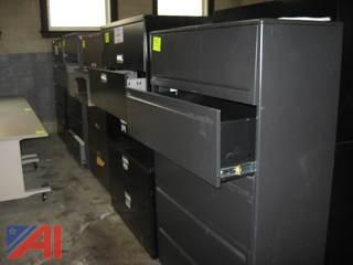 Assorted Lateral File Cabinets