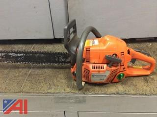 (#2) Husqvarna 353 Chain Saw