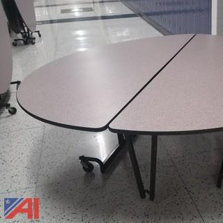 6' Round Fold Up Tables