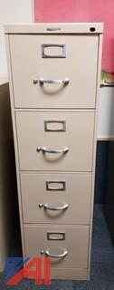 Various Multi-Drawer Filing Cabinets