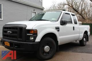 2008 Ford F250 Super Duty Pickup Truck