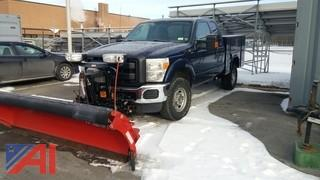 2011 Ford F250 Super Duty Service Body Truck with Plow