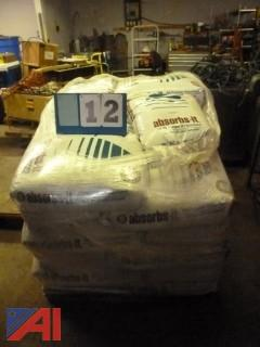 50lb Bags of Absorbs-It Oil and Grease Absorbent