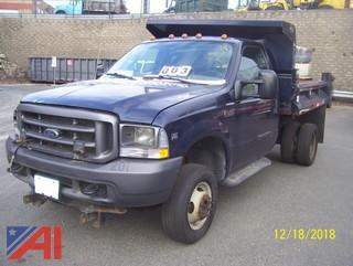 2004 Ford F350 Super Duty Dump Truck