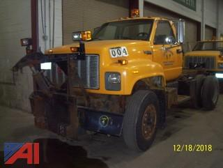 1991 GMC Topkick C7H042 Cab and Chassis