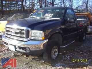 2002 Ford F250 XL Super Duty Pickup Truck