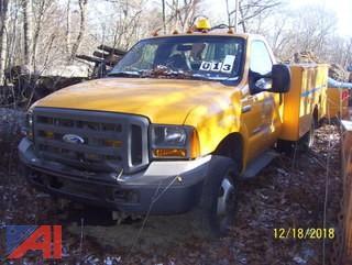 2005 Ford F350 XL Super Duty Utility Truck