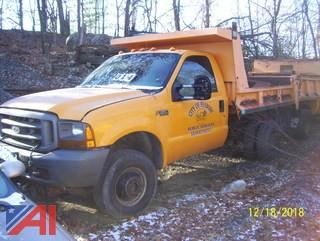 1999 Ford F350 Super Duty Dump Truck