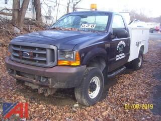 1999 Ford F250 Super Duty Utility Truck