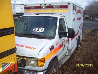 2003 Ford E350 Ambulance