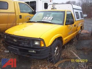 1997 Chevy S10 Pickup Truck