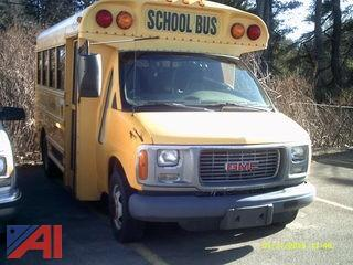 2002 GMC G3500 Savana School Bus