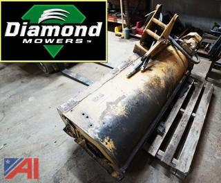 "Diamond 63"" Hydraulic Flail Mower Head Attachment"