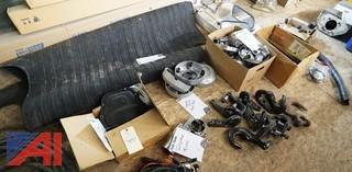 Assorted New and Used Medium and Heavy Duty Trucks Parts and Related Items