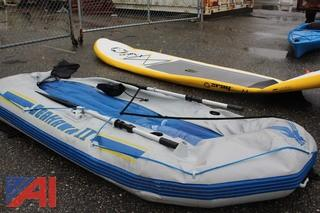 Inflatable Raft & Inflatable Paddle Board
