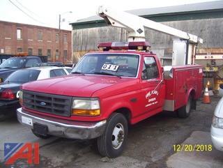 1997 Ford F350 Utility Bucket Truck
