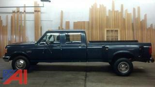 **Updated** 1991 Ford F350 Crew Cab 4 Door Pickup Truck