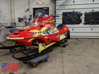 2001 Polaris ProX600 Snowmobile