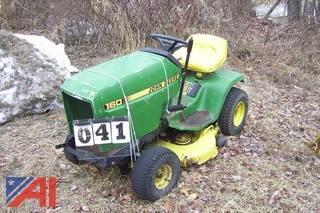 John Deere 160 Mower