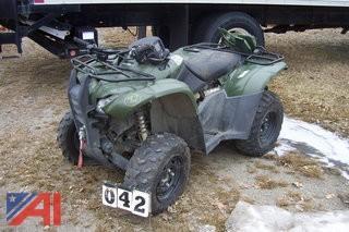 2014 Honda Rancher AT TRX420 FA ATV