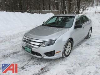 2012 Ford Fusion 4 Door
