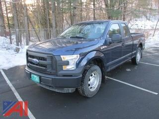 2016 Ford F150 Extended Cab Pickup Truck