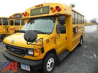 (308) 2006 Ford E450 Wheelchair Mini School Bus