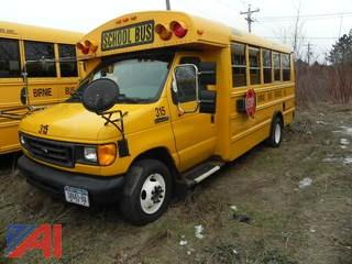 (315) 2006 Ford E450 Mini School Bus