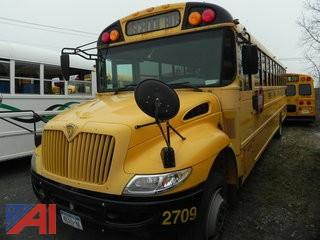 (2709) 2007 Inernational CE200 Wheelchair School Bus