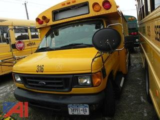 (316) 2006 Ford E450 Mini School Bus