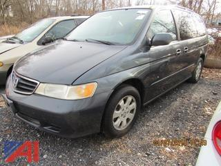 **Updated, NO keys** 2004 Honda Odyssey Van